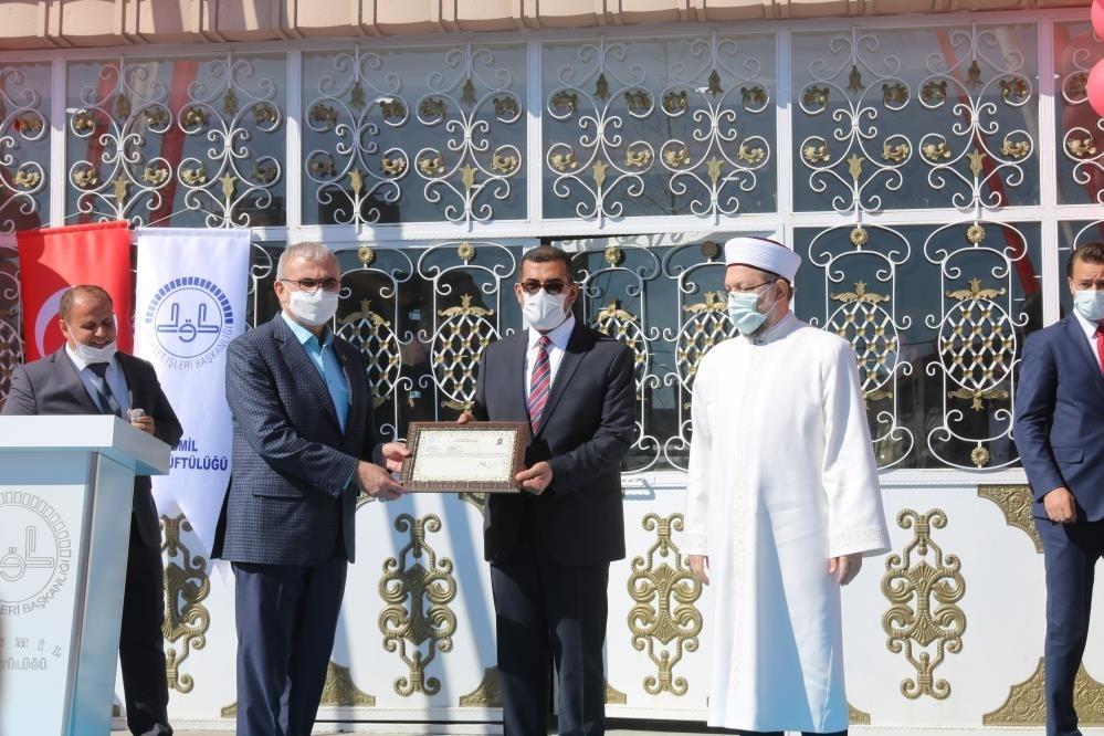 Diyanet İşleri Başkanı Erbaş, Bismil İlçe Müftülüğü açılışına katıldı