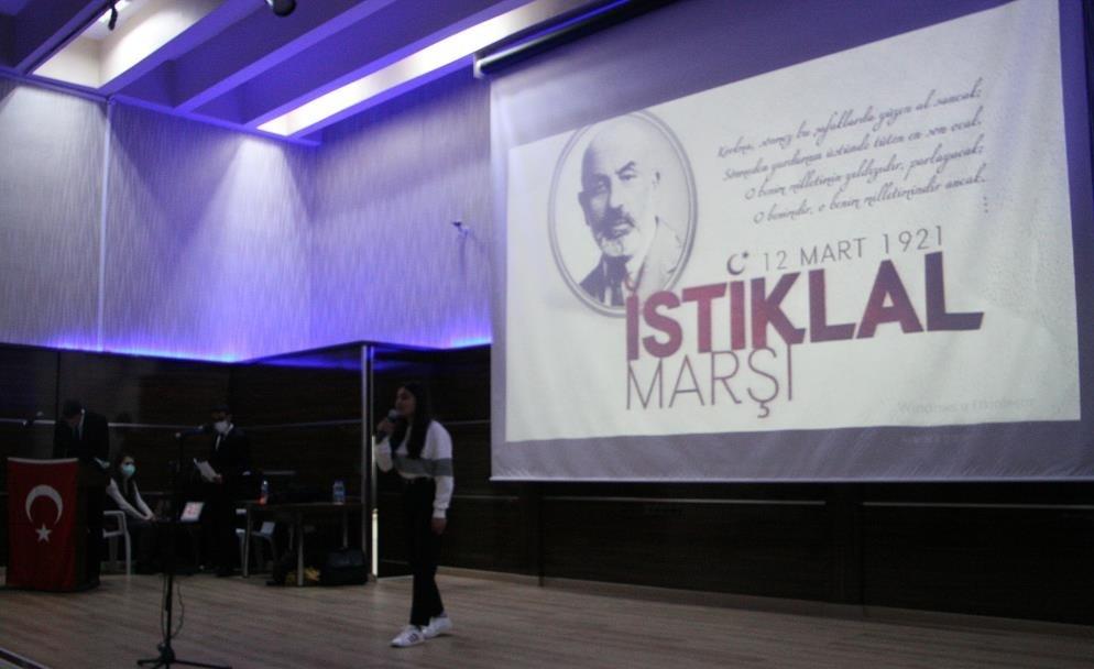 Silvan'da İstiklal Marşının 100. yıl dönümü etkinlikleri