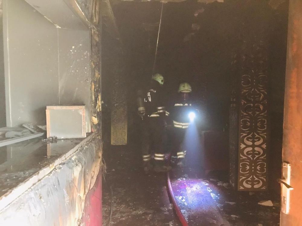 Diyarbakır'da gece kulübünde yangın