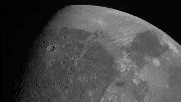NASA Jüpiter'in uydu fotoğraflarını paylaştı