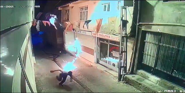 AK Parti Hani ilçe binasına yönelik saldırı açıklaması