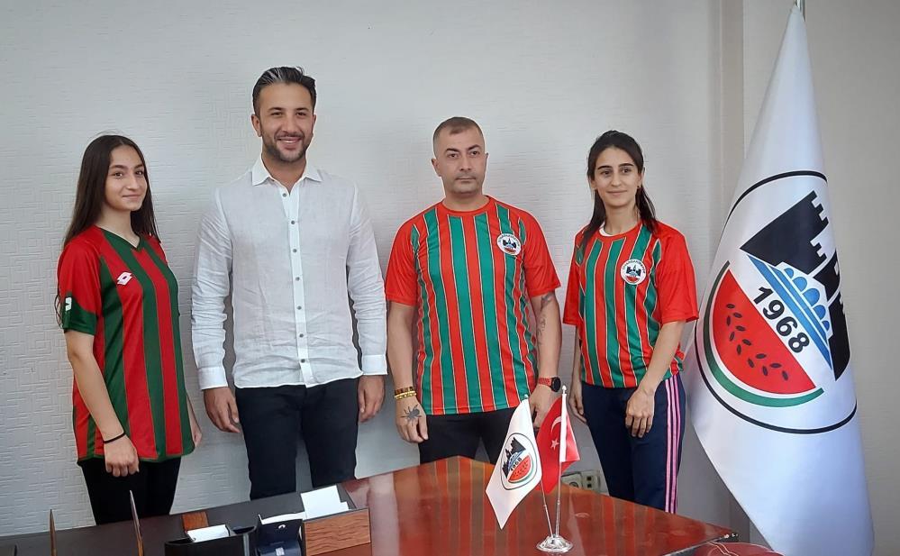 Diyarbakırspor başarılı 4 milli sporcuyu transfer etti
