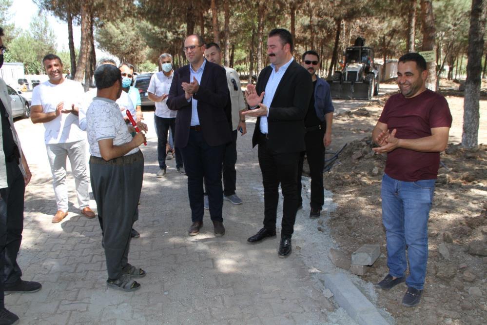 Başkan Türkmen: Millet Bahçesi ile Bismil önemli bir esere kavuşacak