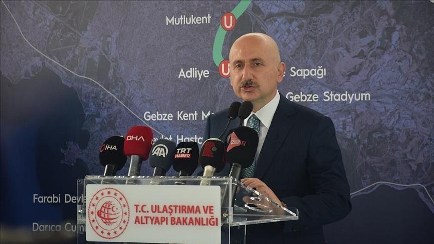 Karaismailoğlu: Kanal İstanbul'un ilk köprüsünün temelini 26 Haziran'da atıyoruz