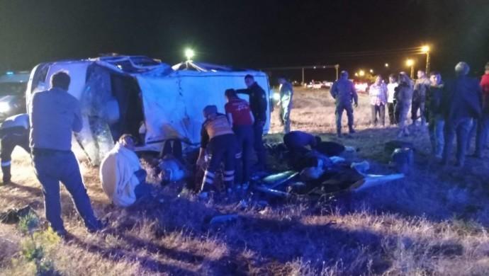 Ağrı Patnos'ta trafik kazası: 3 ölü