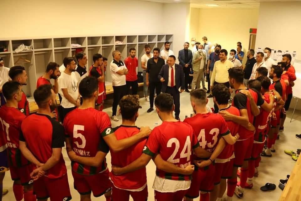 Beyoğlu rakip takımın oyuncularına başarılar dilemesi taktirle karşılandı