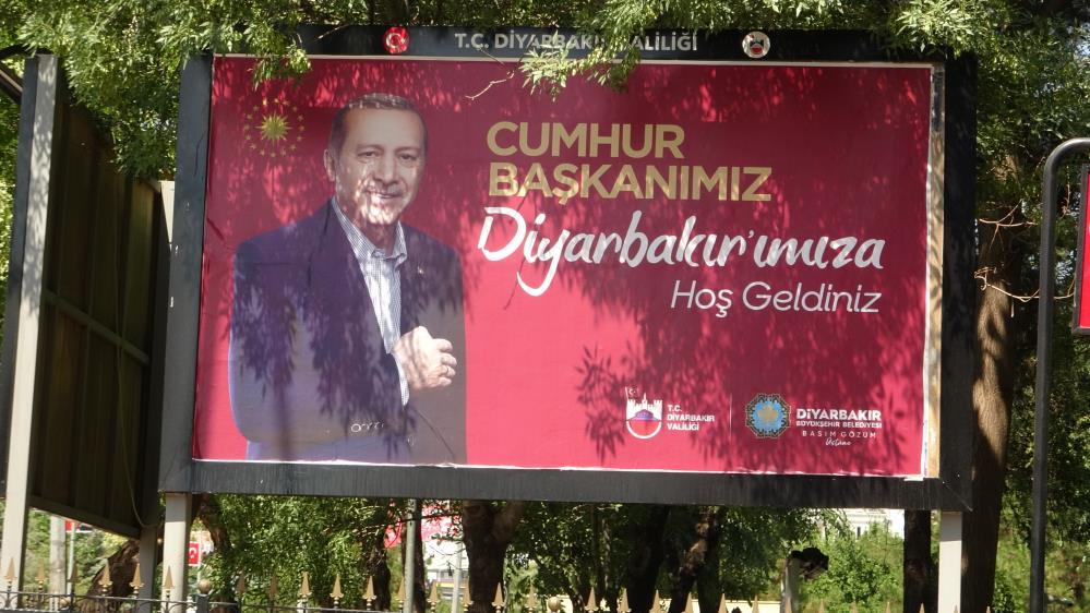 Diyarbakır Cumhurbaşkanını karşılamaya hazır