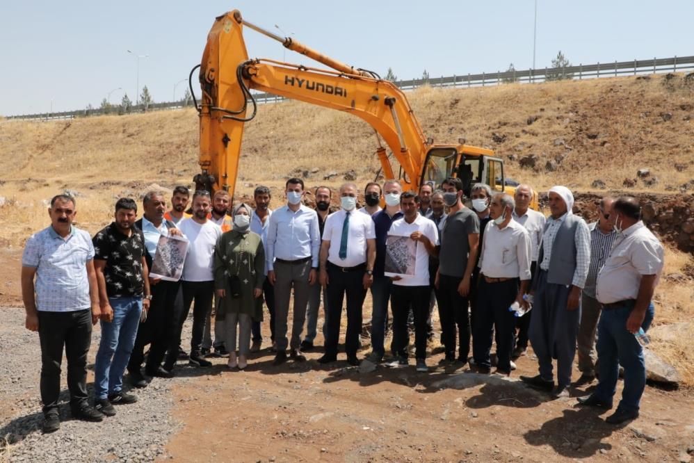 Diyarbakır'da Çelik Evler Mahallesi projesi start aldı