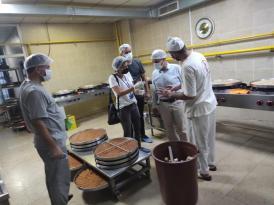 Bağlar Belediyesinden tatlı imalathanelerine bayram denetimi