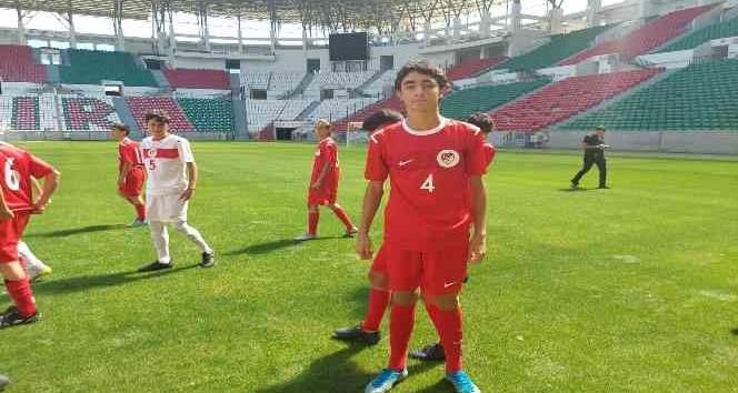 Diyarbakır DSİSpor'un milli takım gururu