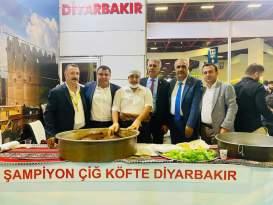 11. Yörex Yöresel Ürünler Fuarına Diyarbakır'dan katılım