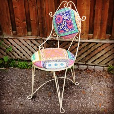 Cast Iron Soda Chair