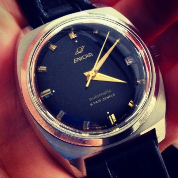 Vintage Enicar Watch