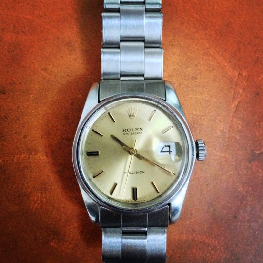 1970 Rolex Precision Watch