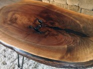 Black Walnut Knot Table