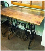 Converted Singer Treadle Table