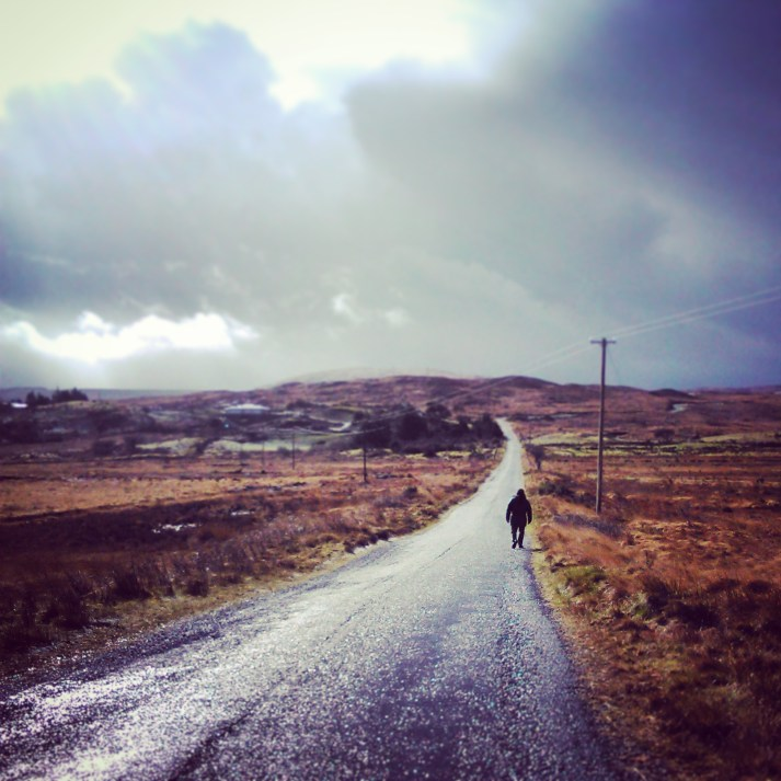 Walking Connemara