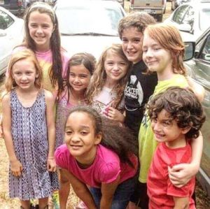 Photo with the Insurgent Movie Kids