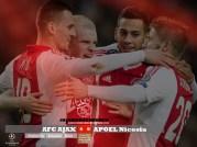 Ajax 4-0 Apoel Spelers