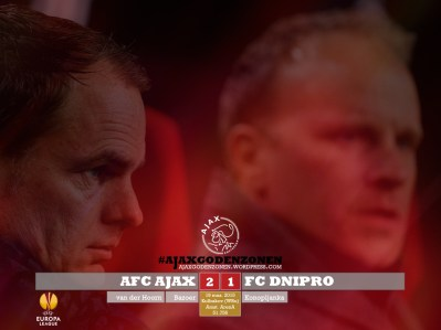 EUROPA LEAGUE Ajax 2-1 Dnipro Trainers