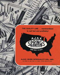 1975 Ajax Wire Specialty Company catalog cover