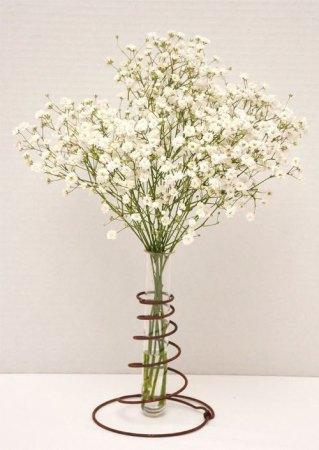 bed spring vase