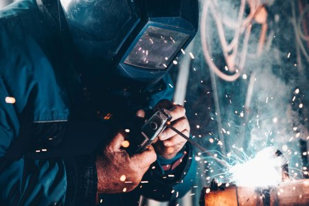 manufacturing in America - welding