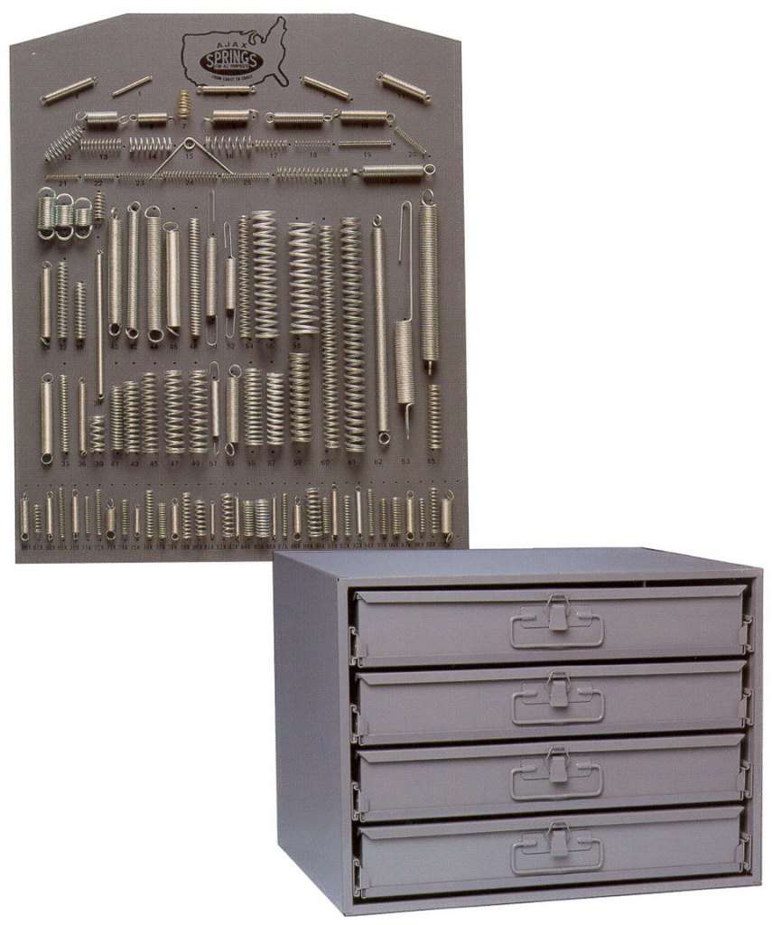750 spring assortment (board & cabinet)
