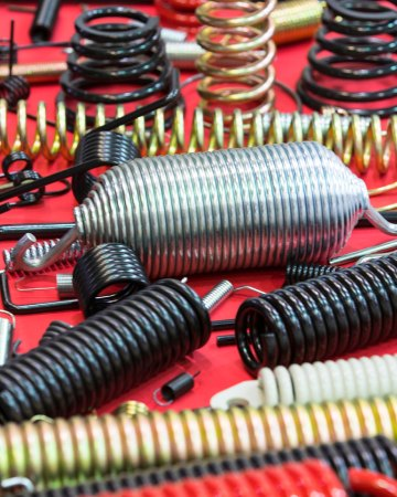 variety of metal springs