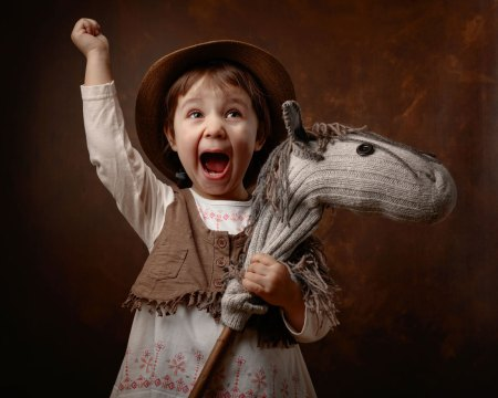 Child with Hobby Horse