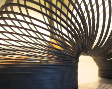 World's largest Slinky