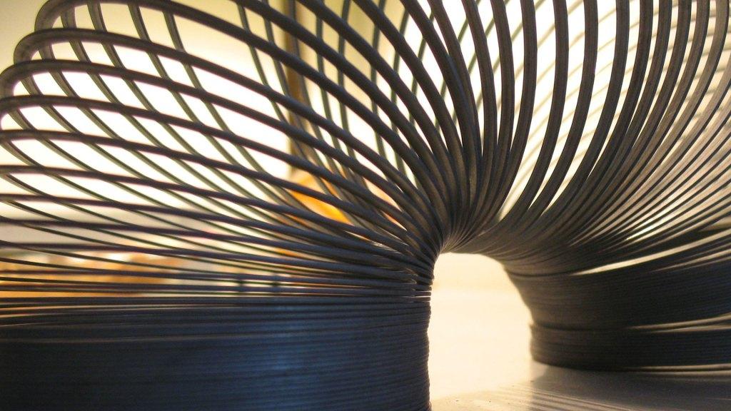 World's longest Slinky