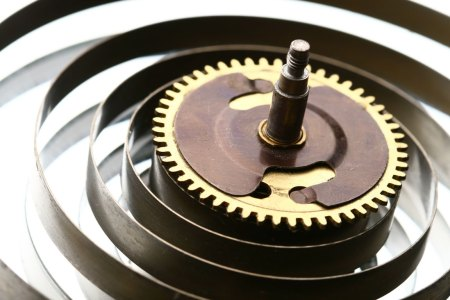 torsion spring for clock