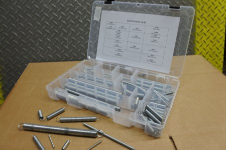 Galvanized Hard Drawn Wire Extension Spring Assortment