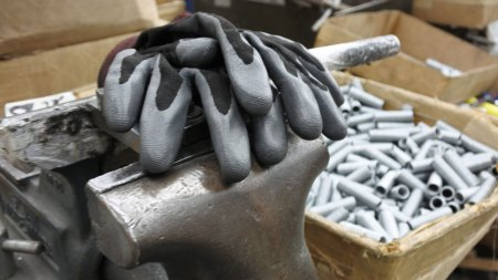 Gloves and springs