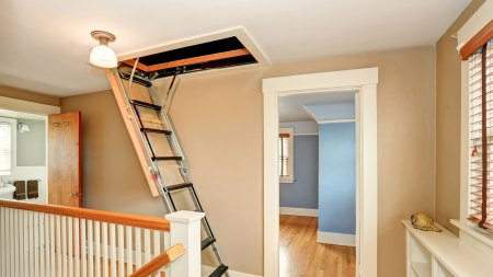 Attic stair spring feature image