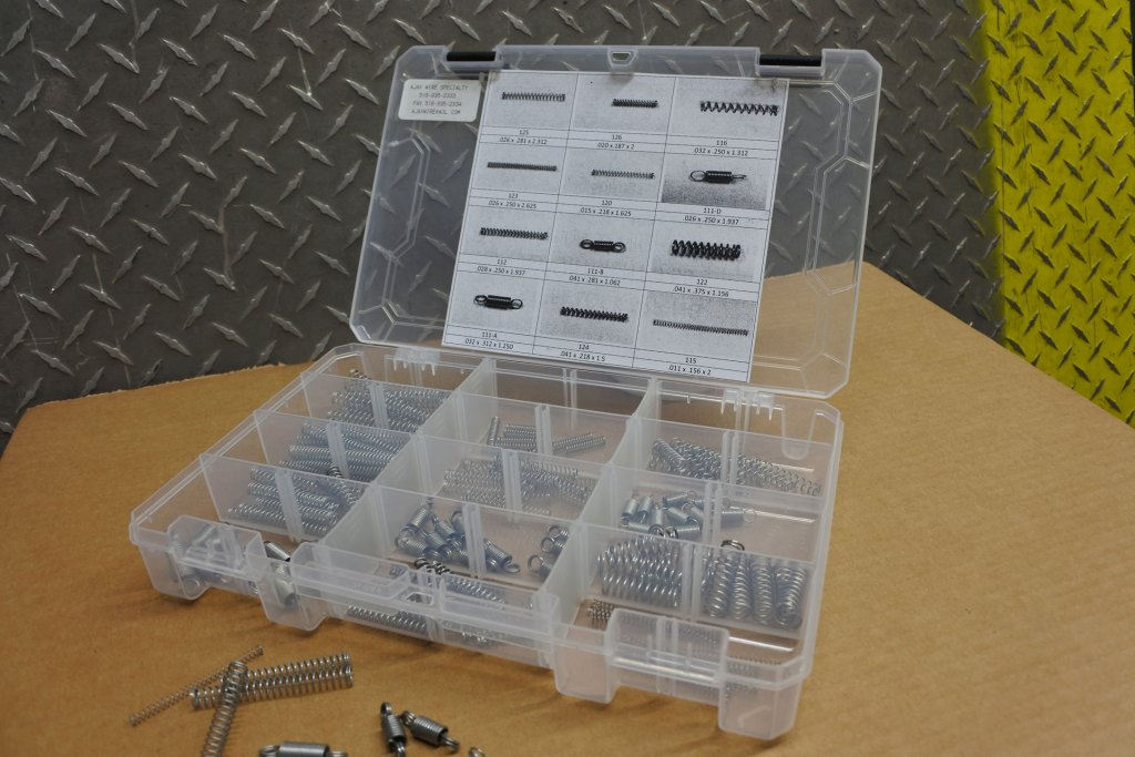 Steel Lock Spring Assortment