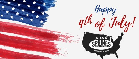 Happy 4th of July from Ajax Springs