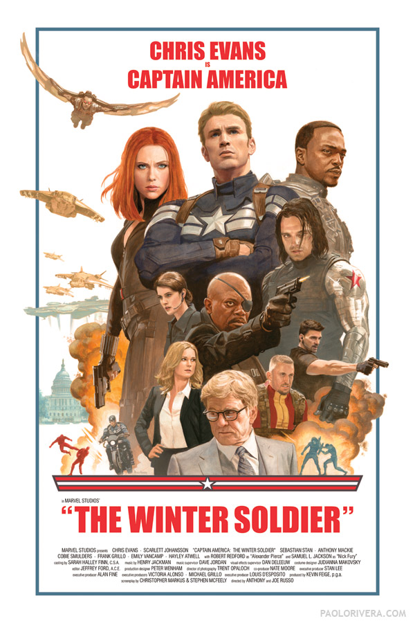 Am văzut Captain America: The Winter Soldier