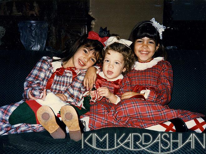 The Kardashians VeryBeautiful Merry Christmas Cards