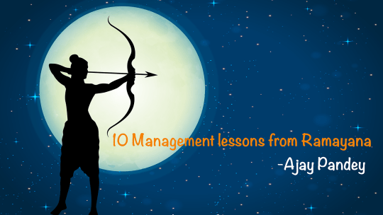 10 Management lessons Ramayana author ajay kumar pandey Nepal