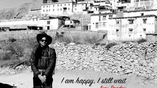 I am happy, I still wait | Ajay Pandey