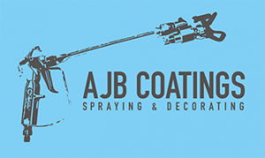 AJB Coatings Logo - Specialist Spraying Service