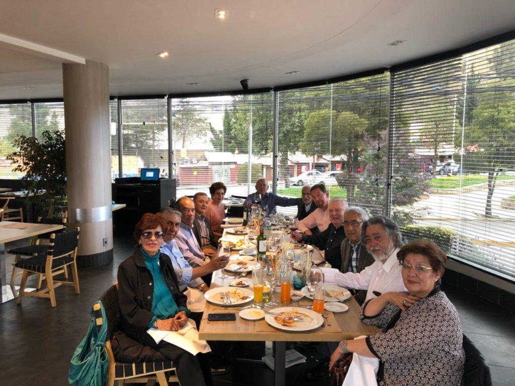 Almuerzo de los jubilados del BID-Bolivia 28 de Febrero 2018
