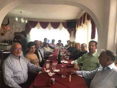 Almuerzo Filial de Bolivia Septiembre 2018