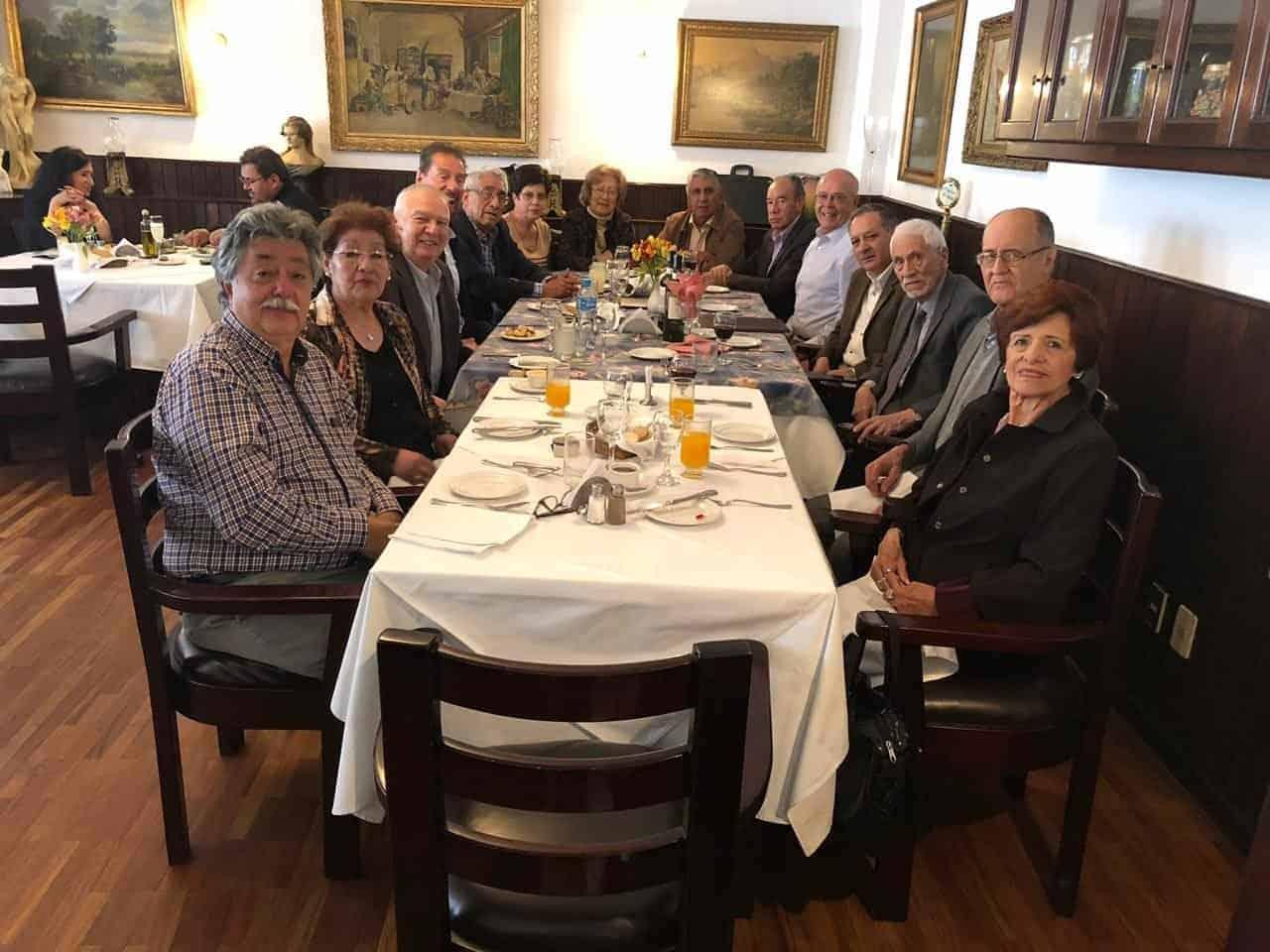 Almuerzo Filial de Bolivia Noviembre 2018