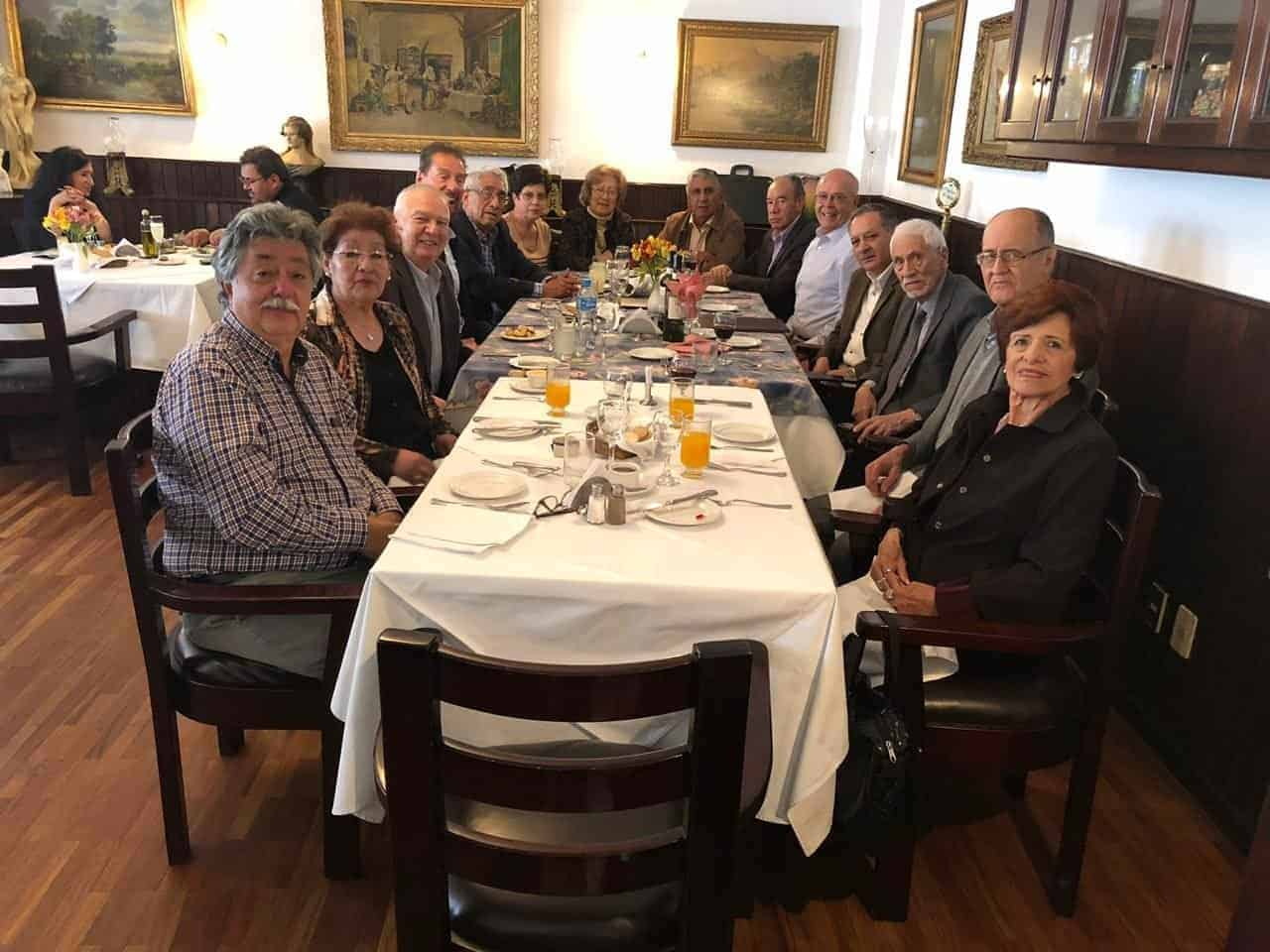 Almuerzo de Noviembre de la Filial de Bolivia
