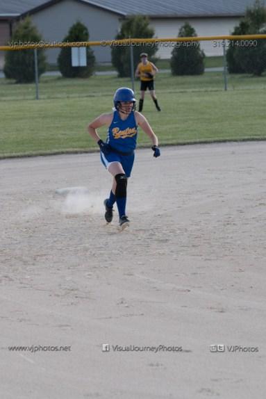 Softball Level 2 Vinton Shellsburg vs Benton Community 2014-6398