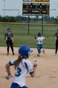 Softball Varsity Vinton-Shellsburg vs Clear Creek Amana 2014-5072