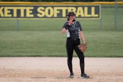 Softball Varsity Vinton-Shellsburg vs Clear Creek Amana 2014-5155